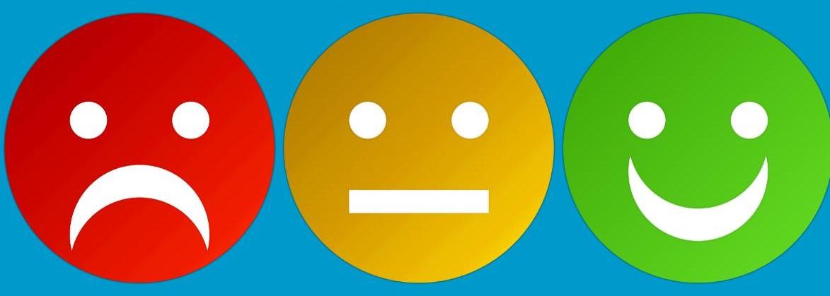 Original Soft crea la encuesta de satisfacción con caras de emoticonos, adaptada a ambulancias.